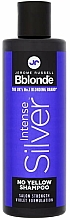 Fragrances, Perfumes, Cosmetics Tinted Shampoo for Blonde, Grey & Bleached Hair - Jerome Russell Bblonde Intense Silver No Yellow Shampoo