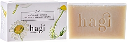 Fragrances, Perfumes, Cosmetics Natural Soap with Seeds Oil - Hagi Soap