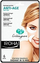 Fragrances, Perfumes, Cosmetics Eye Patches - Iroha Nature Anti Age Hydrogel Patches Collagen