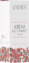 Fragrances, Perfumes, Cosmetics Anti-Wrinkle Day Cream for Dry Skin - Vianek
