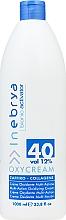 Fragrances, Perfumes, Cosmetics Sapphire Collagen Oxidizing Cream 40,12% - Inebrya Bionic Activator Oxycream 40 Vol 12%