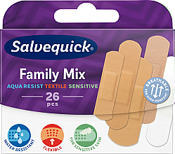Fragrances, Perfumes, Cosmetics Family Mix Textile Patch Set - Salvequick Family Mix