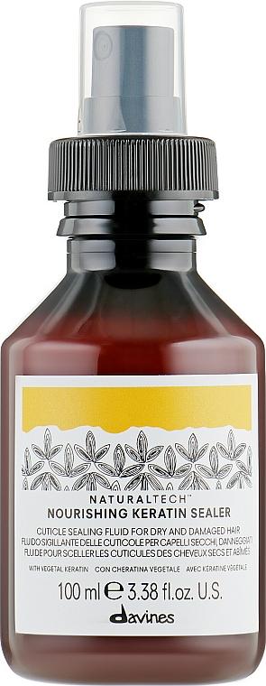 Nourishing Keratin Fluid - Davines Natural Tech Nourishing Keratin Booster