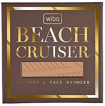 Fragrances, Perfumes, Cosmetics Face & Body Bronzer - Wibo Beach Cruiser Body&Face Bronzer