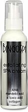 Fragrances, Perfumes, Cosmetics Exfoliating AHA, Almond, Alpha Lipoic Acids & Collagen Cream - BingoSpa