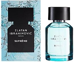 Fragrances, Perfumes, Cosmetics Zlatan Ibrahimovic Supreme Pour Homme - Eau de Toilette