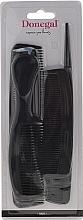 Fragrances, Perfumes, Cosmetics Hair Comb Set, black, 9816, 6 pcs - Donegal Hair