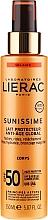 Fragrances, Perfumes, Cosmetics Sun Protection Body Milk SPF50 - Lierac Sunissime