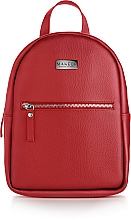 """Fragrances, Perfumes, Cosmetics Backpack """"Sleek and Chic"""", red - MakeUp"""