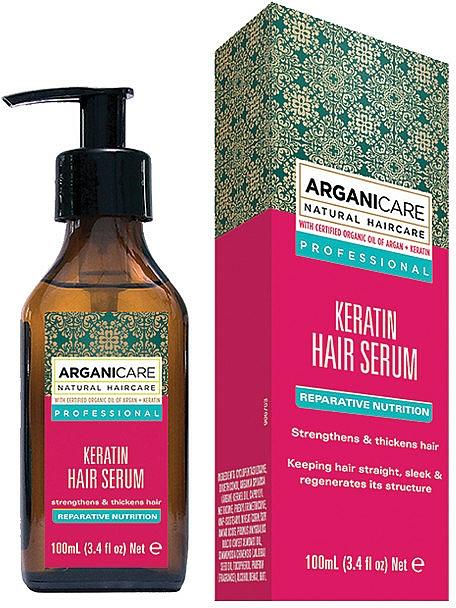 Keratin Hair Serum - Arganicare Keratin Repairing Hair Serum