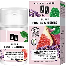 Fragrances, Perfumes, Cosmetics Anti-Wrinkle Day and Night Cream - AA Super Fruits & Herbs