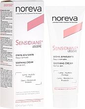 Fragrances, Perfumes, Cosmetics Face Cream with Lightweight Texture - Noreva Laboratoires Sensidiane Legere Soothing Cream Normal Skin