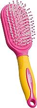 Fragrances, Perfumes, Cosmetics Kids Massage Hair Brush, yellow-pink - Titania