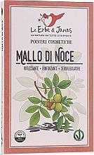 Fragrances, Perfumes, Cosmetics Walnut Husk Hair Powder - Le Erbe di Janas Pure Walnut Husk Powder