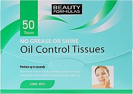 Fragrances, Perfumes, Cosmetics Oil Absorbing Paper - Beauty Formulas Oil Control Tissues
