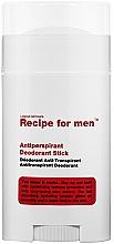 Fragrances, Perfumes, Cosmetics Antiperspirant Deodorant - Recipe For Men Antiperspirant Deodorant Stick