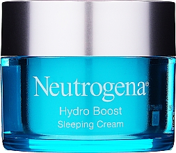 Fragrances, Perfumes, Cosmetics Moisturizing Night Face Cream - Neutrogena Hydro Boost Sleeping Cream