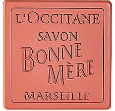 Toilet Soap - L'Occitane Bonne Mere Rhubarb-Basil Soap — photo N1