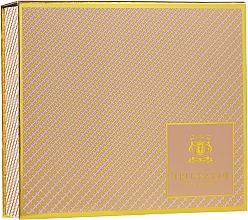 Fragrances, Perfumes, Cosmetics Trussardi Delicate Rose - Set (edt/30ml + b/l/30mlx2)