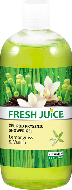 "Shower Gel ""Lemongrass & Vanilla"" - Fresh Juice Sexy Mix Lemongrass & Vanilla — photo N1"