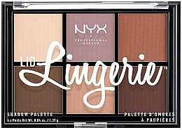 Fragrances, Perfumes, Cosmetics Eyeshadow Palette - NYX Professional Makeup Lingerie Shadow Palette