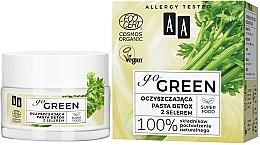 Fragrances, Perfumes, Cosmetics Celery Cleansing Detox Paste - AA Go Green