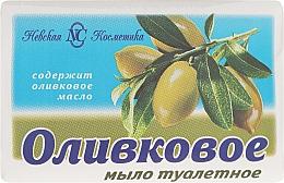 "Fragrances, Perfumes, Cosmetics Toilet Soap ""Olive"" - Nevskaya kosmetika"