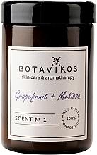 Fragrances, Perfumes, Cosmetics Botavikos Greipfrut&Melisa - Scented Candle