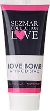 Fragrances, Perfumes, Cosmetics Shower & Intimate Hygiene Gel - Sezmar Collection Love Aphrodisiac Shower Gel Love Bomb