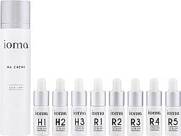 Fragrances, Perfumes, Cosmetics Set - Ioma Ma Creme Set Day Base (cr/40ml+ser/8x5ml)