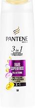 Fragrances, Perfumes, Cosmetics 3-in-1 Hair Shampoo - Pantene Pro-V Superfood Shampoo