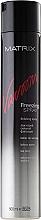 Fragrances, Perfumes, Cosmetics Strong Hold Hair Spray - Matrix Vavoom Freezing Spray Finishing Spray