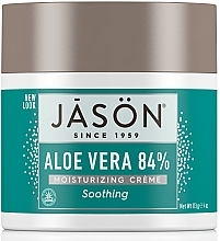 Fragrances, Perfumes, Cosmetics Moisturizing Face and Body Cream with Aloe Vera - Jason Natural Cosmetics Soothing Aloe Vera Moisturizing Cream