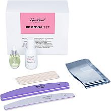 Fragrances, Perfumes, Cosmetics Set - NeoNail Professional Removal Set (rem/50ml + oil/15ml + n/file/2pc + n/wraps/100pc + sticks/10pc)