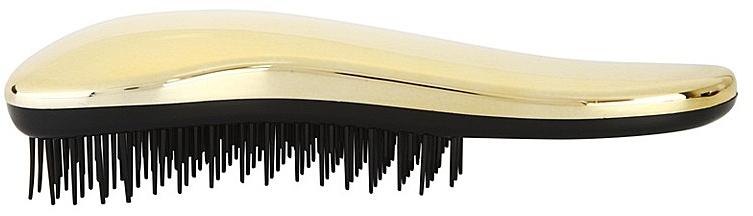 Hair Brush, golden - Detangler Detangling Brush Gold — photo N2