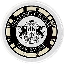 Fragrances, Perfumes, Cosmetics Hair Styling Cream - Dear Barber Shaping Cream (mini size)