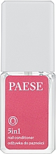 Fragrances, Perfumes, Cosmetics Strengthening Nail Care-Treatment 5 in 1 - Paese Treatments 5 in 1