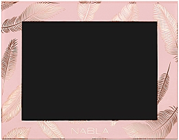 Fragrances, Perfumes, Cosmetics Cosmetic Case, Pink - Nabla Liberty Six Customizable Palette