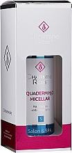 Fragrances, Perfumes, Cosmetics Moisturizing Micelar Water - Charmine Rose Aquaderm H2O Micellar