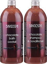 Fragrances, Perfumes, Cosmetics Gift Set - BingoSpa Chocolate Set (bath/foam/500ml + shm/500ml)