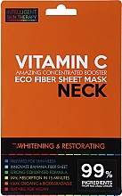 Fragrances, Perfumes, Cosmetics Express Neck Mask - Beauty Face IST Whitening & Restorating Neck Mask Vitamin C