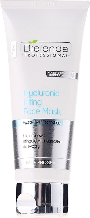 Hyaluronic Lifting Mask for Face - Bielenda Professional Hydra-Hyal Injection Hyaluronic Lifting Face Mask