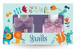 Fragrances, Perfumes, Cosmetics Kids Nail Polish Set 2x10, 5 ml - Snails Mini Bebe Music Is My Life