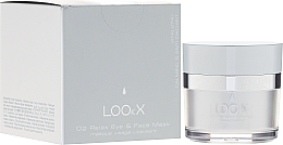 Fragrances, Perfumes, Cosmetics Relaxing Face and Eye Mask - LOOkX O2 Relax Eye & Face Mask