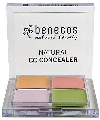 Facial Concealer Palette - Benecos Natural CC Concealer