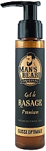 Fragrances, Perfumes, Cosmetics Shaving Gel - Man's Beard Gel De Rasage Premium