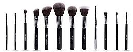 Fragrances, Perfumes, Cosmetics Brush Set - Nanshy Masterful Collection Onyx Black (Brush/12pcs)