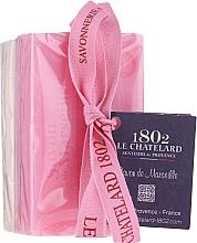Fragrances, Perfumes, Cosmetics Set - Le Chatelard 1802 Rose & Jasmine (soap/100g + soap/100g)