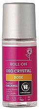 "Fragrances, Perfumes, Cosmetics Roll-On Deodorant ""Rose"" - Urtekram Rose Crystal Deo Roll-On"