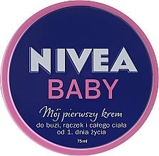 """Fragrances, Perfumes, Cosmetics Baby Cream """"My First Cream"""" - Nivea Baby My First Cream"""